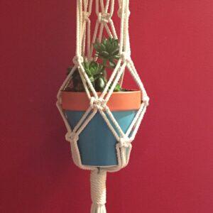 Boho macrame hanger/plant holder